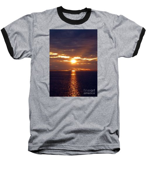 Sunset From Peace River Bridge Baseball T-Shirt