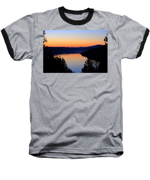 Sunset From The Deck Baseball T-Shirt