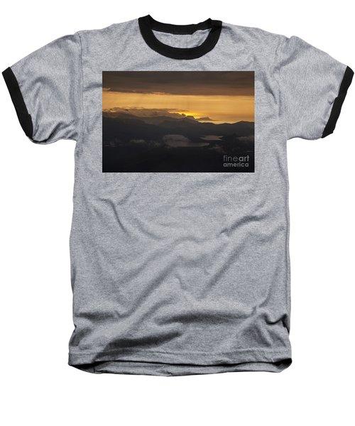 Baseball T-Shirt featuring the photograph Sunset by Gunnar Orn Arnason