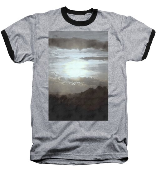 Baseball T-Shirt featuring the photograph Sunset Impressions Over The Blue Ridge Mountains by Photographic Arts And Design Studio
