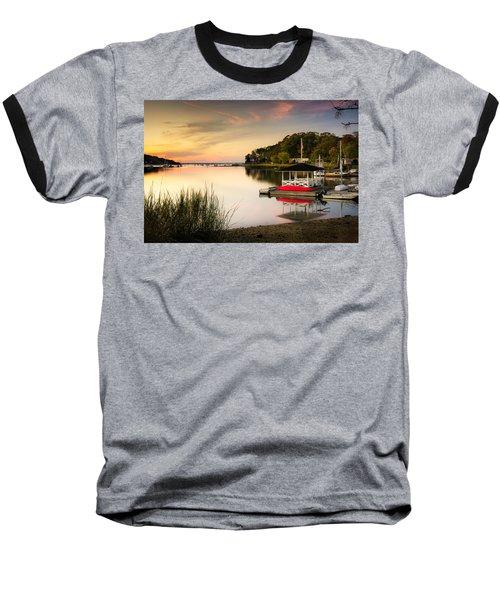Sunset In Centerport Baseball T-Shirt