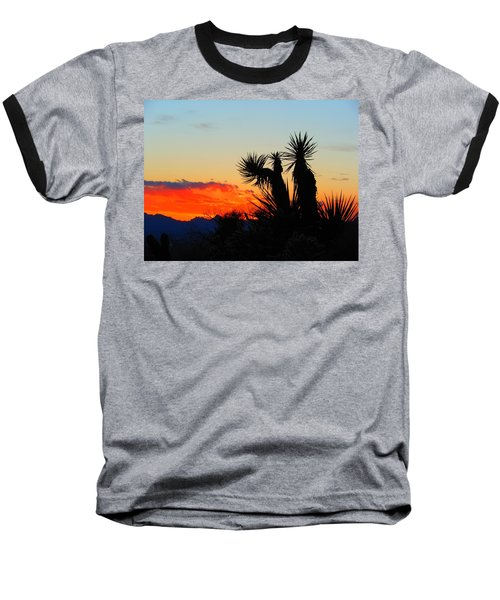 Sunset In Golden Valley Baseball T-Shirt