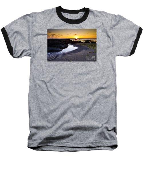 Sunset In Iceland Baseball T-Shirt by Gunnar Orn Arnason