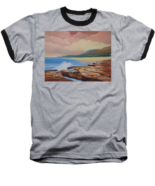 Sunset In New South Wales Baseball T-Shirt