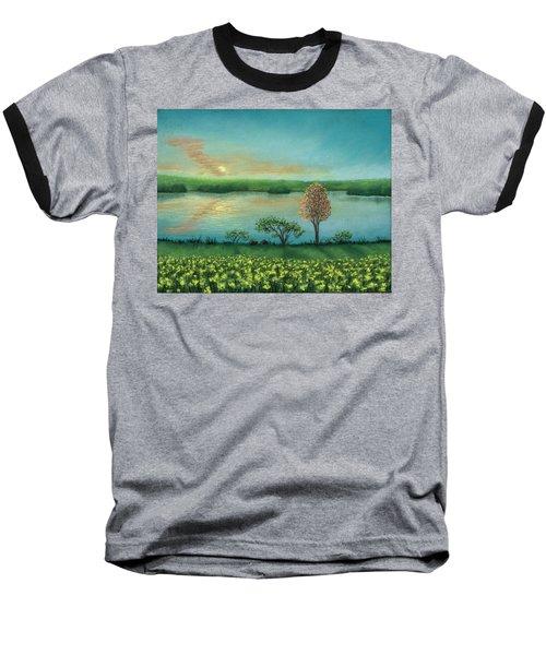 Sunset Lake B Baseball T-Shirt