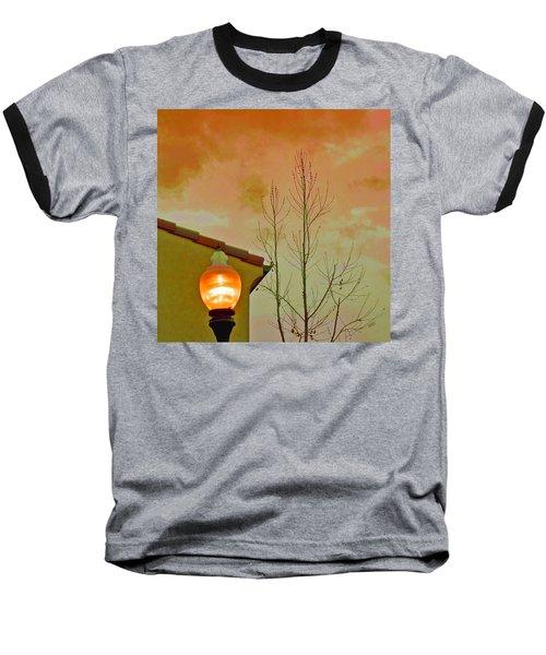 Sunset Lantern Baseball T-Shirt
