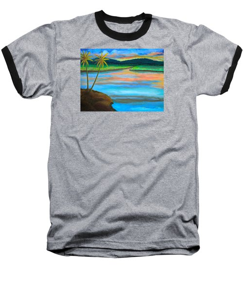 Sunset  Baseball T-Shirt