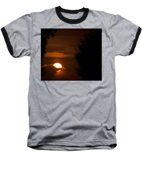 Sunset Baseball T-Shirt by Miguel Winterpacht