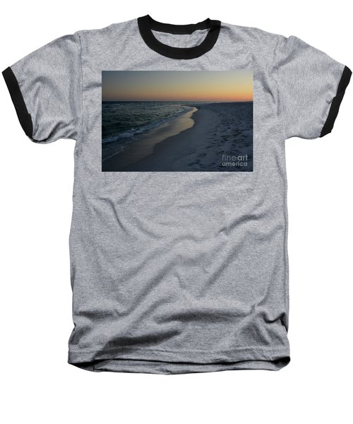 Sunset Navarre Beach Baseball T-Shirt