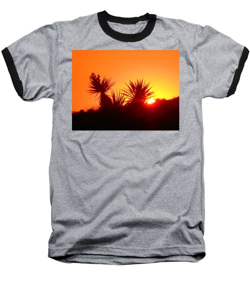 Sunset Near Castle Rock Baseball T-Shirt
