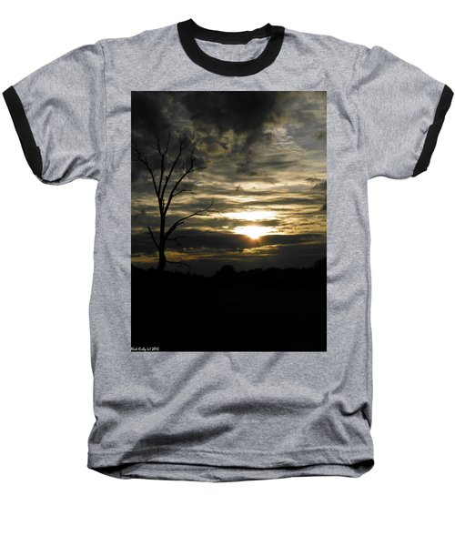 Sunset Of Life Baseball T-Shirt