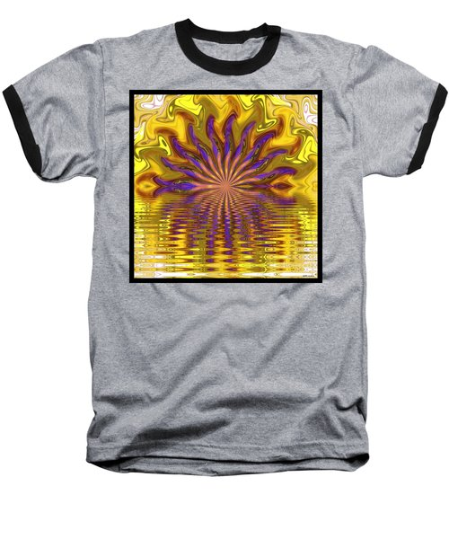 Sunset Of Sorts Baseball T-Shirt