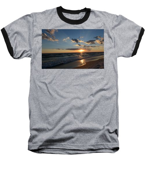 Baseball T-Shirt featuring the photograph Sunset On Alys Beach by Julia Wilcox