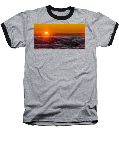 Sunset On Cloud City 1 Baseball T-Shirt