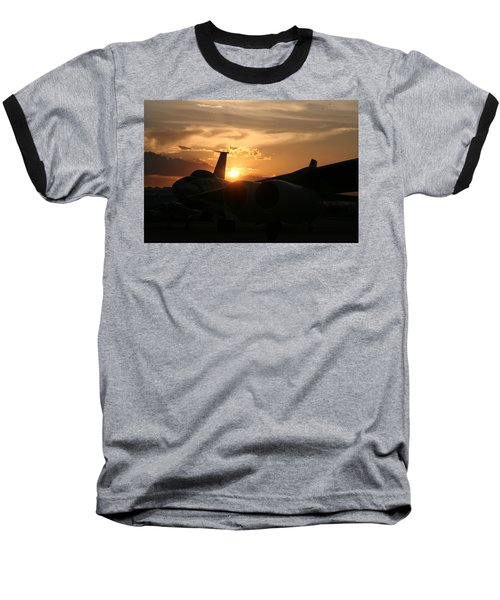 Sunset On The Cold War Baseball T-Shirt