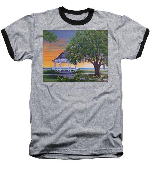 Sunset On The Gazeebo Baseball T-Shirt