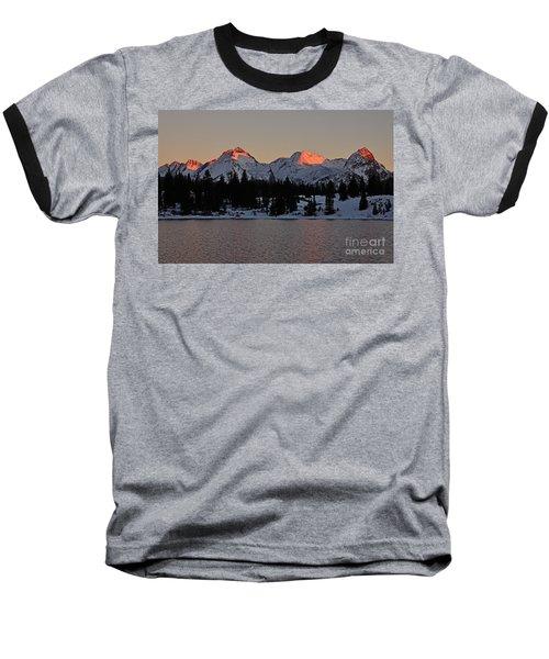 Sunset On The Grenadiers Baseball T-Shirt