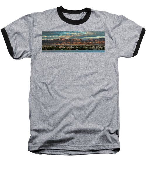 Sunset Over Havasu Baseball T-Shirt