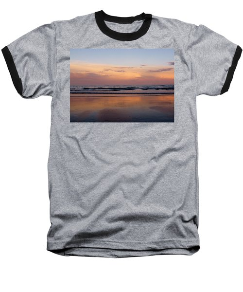 Sunset Over Long Sands Beach II Baseball T-Shirt
