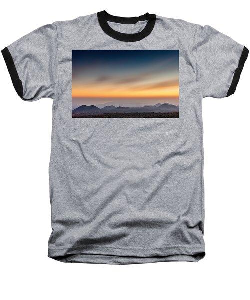 Sunset Over The Gulf Baseball T-Shirt