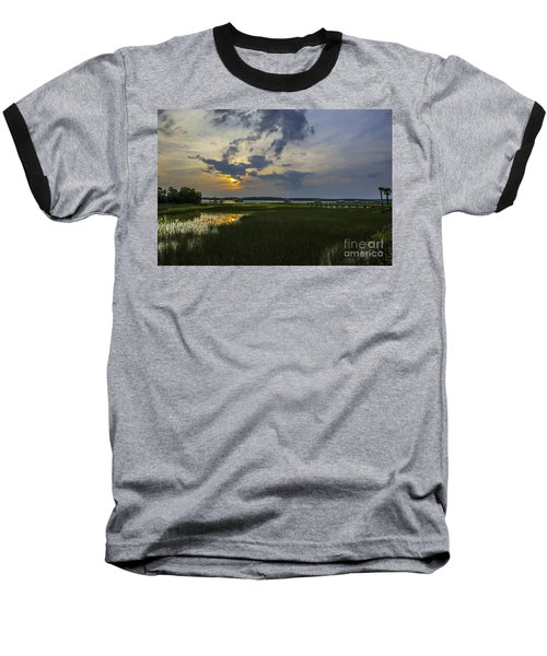 Sunset Over The Wando Baseball T-Shirt