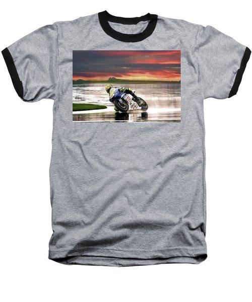Sunset Rossi Baseball T-Shirt