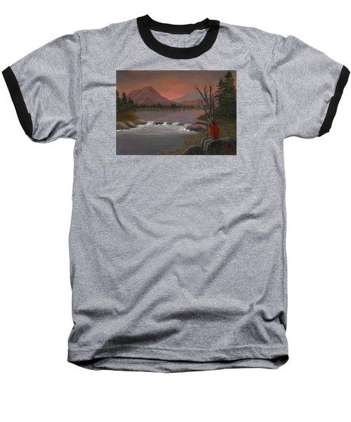 Sunset Serenade Baseball T-Shirt by Sheri Keith
