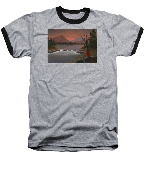 Sunset Serenade Baseball T-Shirt