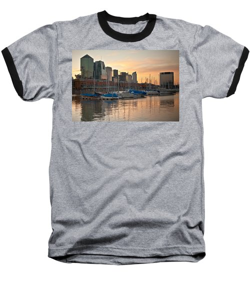 Baseball T-Shirt featuring the photograph Buenos Aires Sunset by Silvia Bruno
