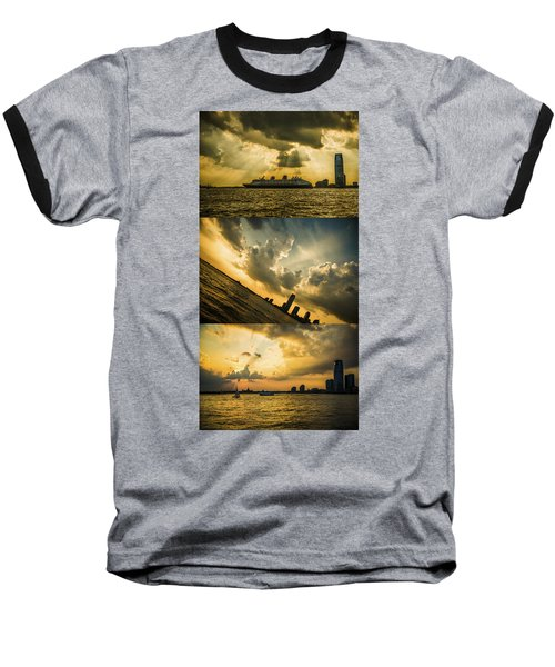 Sunset Trilogy Baseball T-Shirt