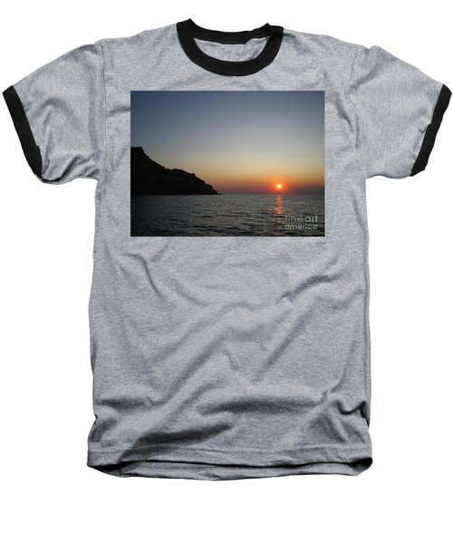 Baseball T-Shirt featuring the photograph Sunset by Vicki Spindler