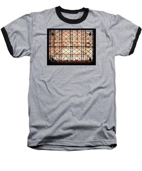Baseball T-Shirt featuring the photograph Sunset Window by Paula Ayers