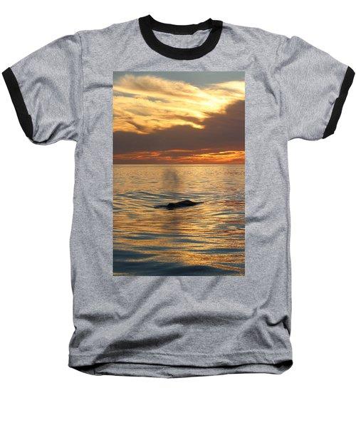 Sunset Wonder Baseball T-Shirt