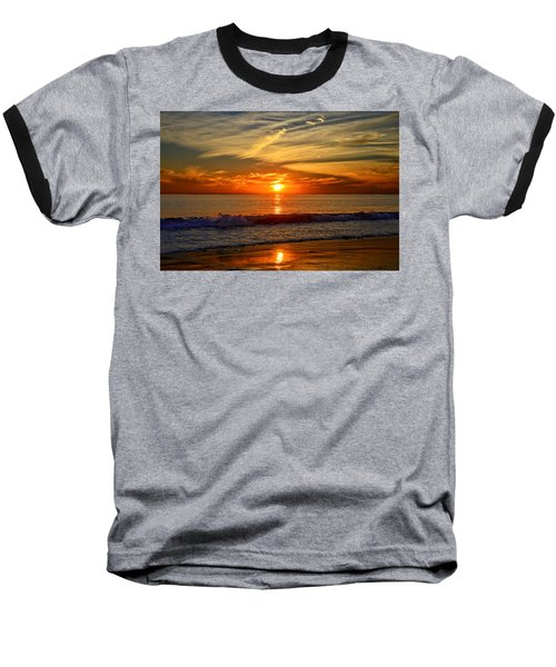 Sunset's Glow  Baseball T-Shirt