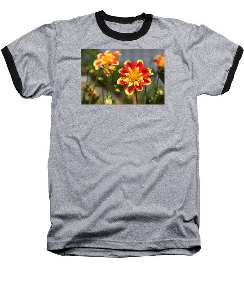 Sunshine Flower Baseball T-Shirt