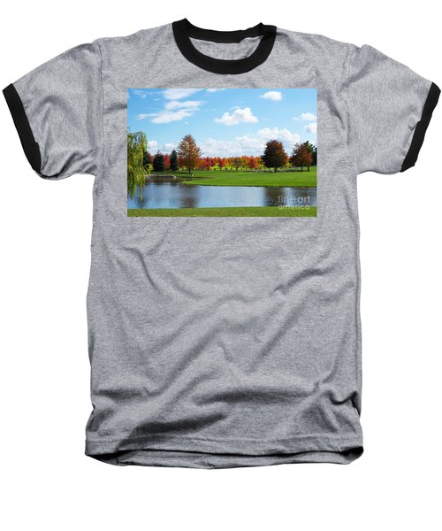 Sunshine On A Country Estate Baseball T-Shirt by Barbara McMahon