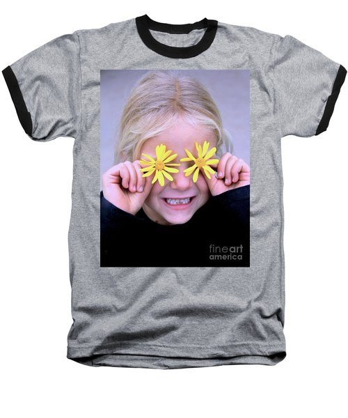 Sunshine Smile Baseball T-Shirt