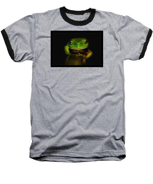 Baseball T-Shirt featuring the photograph Super Frog 01 by Kevin Chippindall