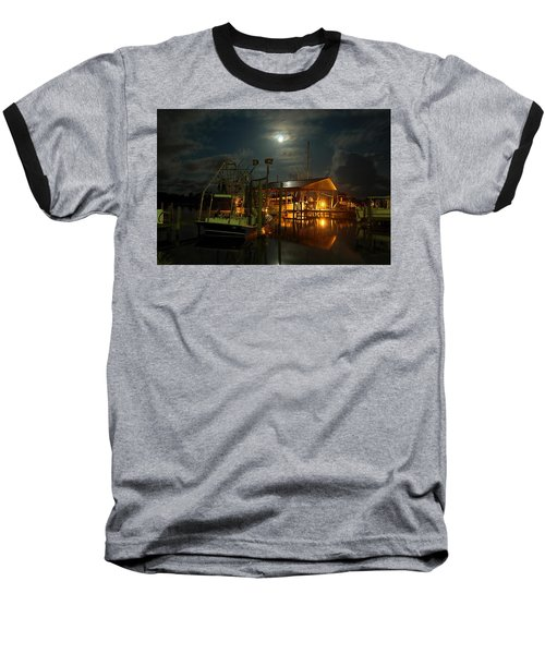 Super Moon At Nelsons Baseball T-Shirt