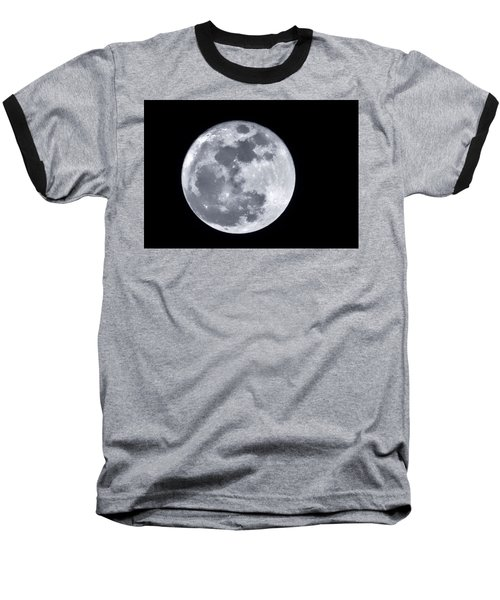 Super Moon Over Arizona  Baseball T-Shirt by Saija  Lehtonen