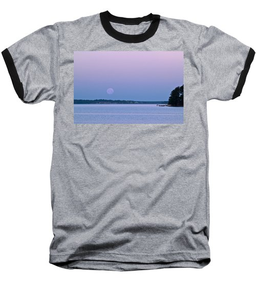 Super Moon Setting-1 Baseball T-Shirt