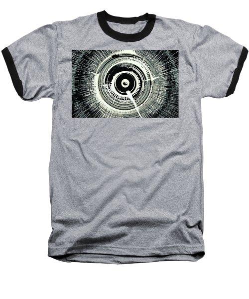 Super Nova Black Baseball T-Shirt