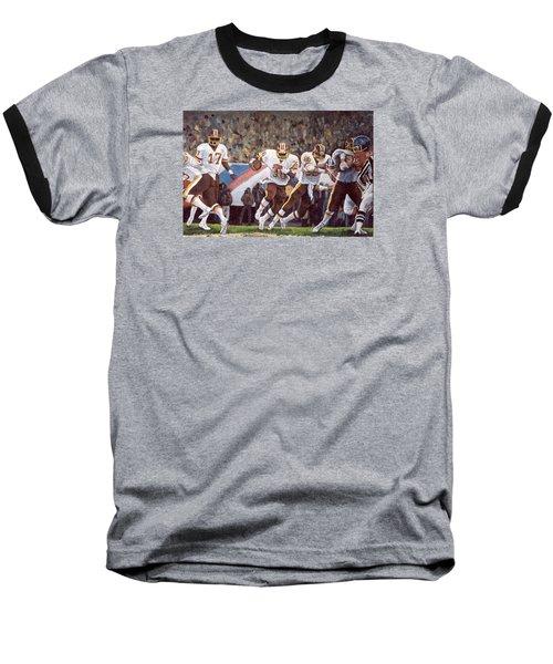 Superbowl Xii Baseball T-Shirt by Donna Tucker