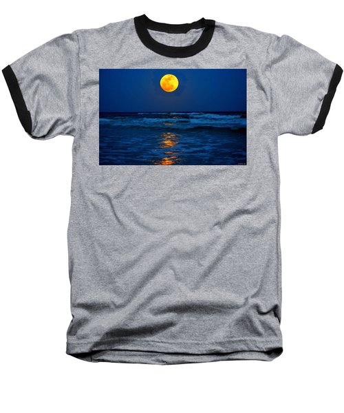 Supermoon Rising On Navarre Beach 20120505c Baseball T-Shirt