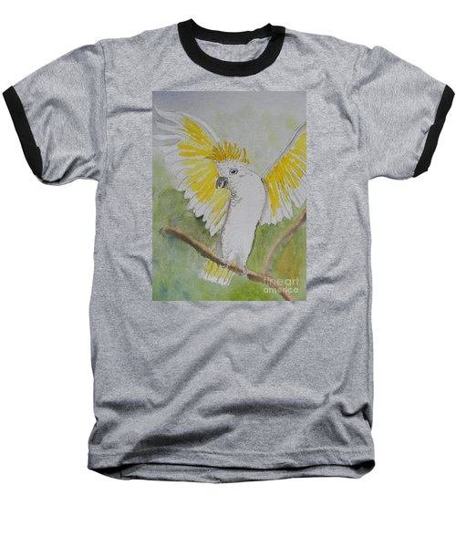 Suphar Crested Cockatoo Baseball T-Shirt