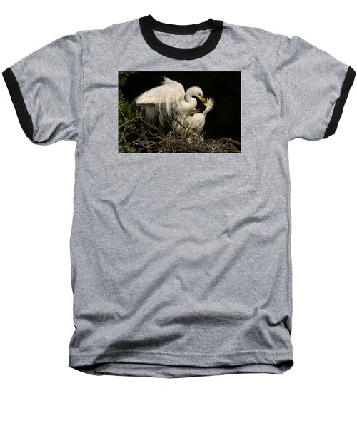 Baseball T-Shirt featuring the photograph Suppertime by Priscilla Burgers