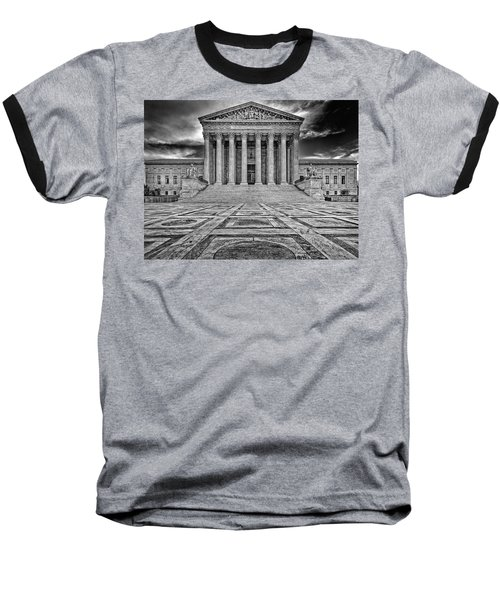 Baseball T-Shirt featuring the photograph Supreme Court by Peter Lakomy