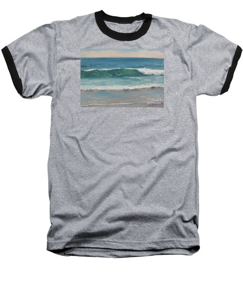 Baseball T-Shirt featuring the painting Surf Series 5 by Jennifer Boswell
