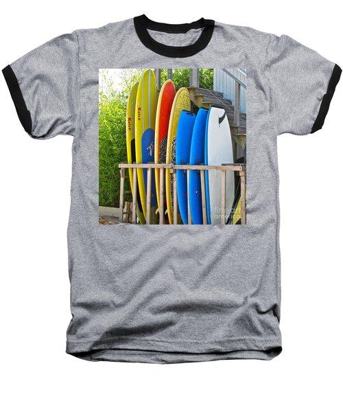 Surfer Dudes II Baseball T-Shirt