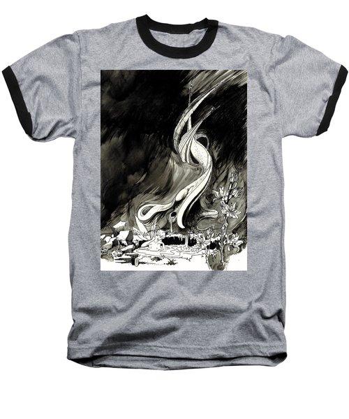 Surprise Baseball T-Shirt by Julio Lopez
